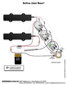 PBass wiring diagram DIY in 2019 Fender precision