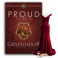 """Gryffindor"" by bitbyacullen on Polyvore"