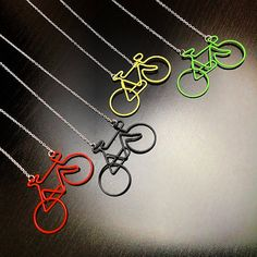 Bicycle Necklace by solarhalo