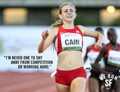 Mary Cain is an inspiration