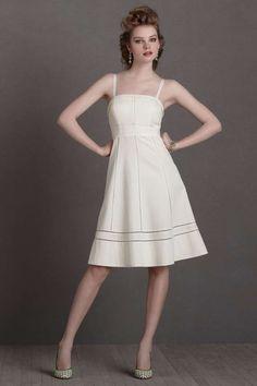 NEW $240 Anthropologie BHLDN Hitherto Ivory Starlet Bridesmaid Cockail Dress~0 #BHLDNAnthropologie #Shift #Cocktail