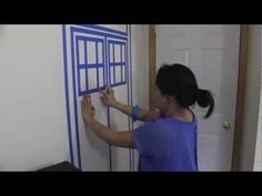 HOW TO MAKE A TARDIS - Painters Tape - YouTube