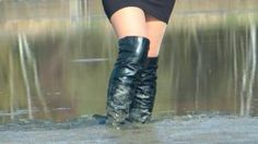 Perfect boots for wading in the mud