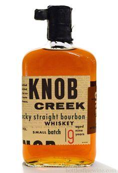 Knob Creek Kentucky Straight #bourbon #whiskey