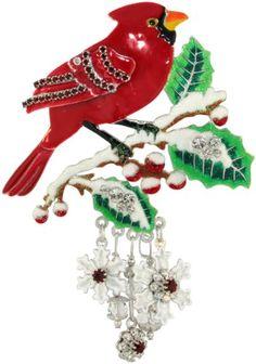 e487e6995 Lunch at The Ritz 2Go USA Snow Bird Pin Bird Jewelry, Vintage Costume  Jewelry,