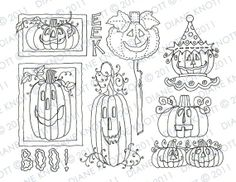 Digital Stamp / Embroidery Pattern  Jack by cottagebythepond, $3.00