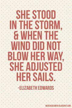 adjust your sails!