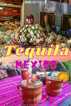 Visiting Tequila, Mexico and going on a tour of the La Cofradia factory to learn more about how they make this famous liquor. #tequila #mexico #tequilatown #tequilamexico Cozumel, Cancun, Travel Ideas, Travel Inspiration, Travel Tips, Mexico Vacation, Mexico Travel, Puerto Vallarta, South America Travel