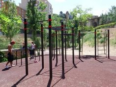 Alcoy - Kenguru PRO Outdoor Gym, Workout, Full Body, Arch, Outdoor Structures, Calisthenics, Goals, Parks, Exercises