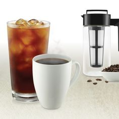 Taste the difference with TAKEYA's Cold Brew Coffee Maker. Just add coffee, cold brew & enjoy.