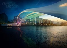 74 designs unveiled for the Nine Elms to Pimlico bridge. International contest.