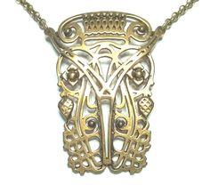 "KALEVALA KORU KK Finland - Beautiful Bronze Necklace ""Finland's Independence"" #KalevalaJewelry"