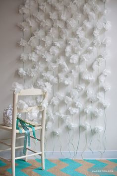 DIY Paper Flower Backdrop Tutorials