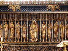 St. James, High Melton, reredos by Sir Ninian Comper.