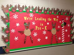 My Christmas Bulletin Board