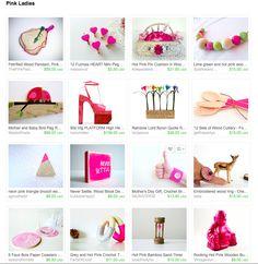 Pink Ladies   Curator: Melissa