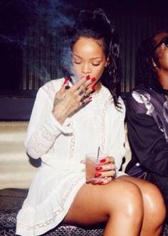 Rihanna wearing Isabel Marant Helly Dress.