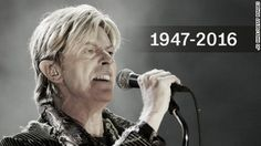 David Bowie, whose ground-breaking sound and chameleon-like ability to reinvent himself made him a pop music fixture for more than four decades, has died. He had just turned 69 last week.