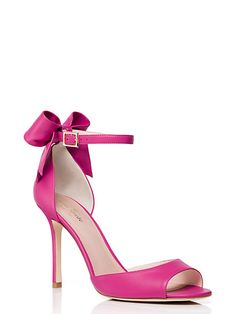 "Izzie heels - Kate Spade New York these lovely pinks will need 'invisible' shoe inserts designed for strappy sandals to keep your foot from sliding forward- for these see  ❤︎.❤︎...""How to make high heels -boots and shoes - comfortable - you tube  at    https://www.youtube.com/watch?v=OwGBW17fdxU   ...also see hopscotch in 4 inch heels!!..."