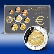 2 Euro Gedenkmünzensatz Griechenland  WWU 2009