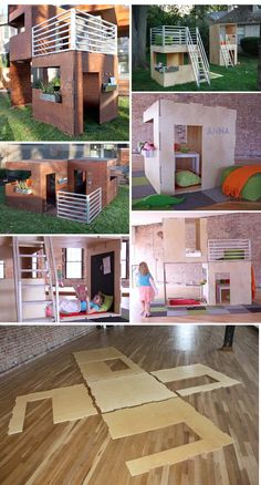 Modern Playhouses - concept by Play Modern