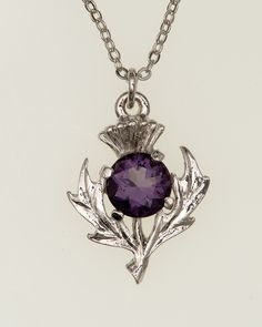 Scottish Thistle Necklace                                                                                                                                                                                 More