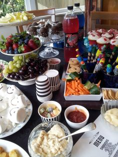 Dr Who Party food