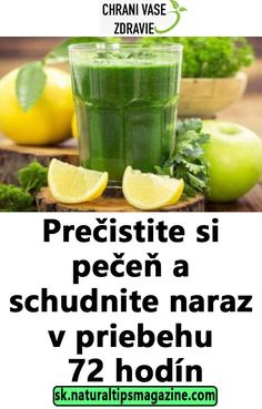 Prečistite si pečeň a schudnite naraz v priebehu 72 hodín Keto Recipes, Healthy Recipes, Health And Beauty, Cucumber, Lose Weight, Health Fitness, Smoothie, Homemade, Food