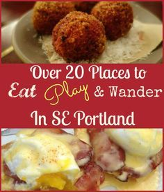 Looking for ways to enjoy Portland, OR? Here is a list with a little bit of everything to enjoy your day in SE Portland.