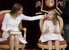 Letizia y Leonor