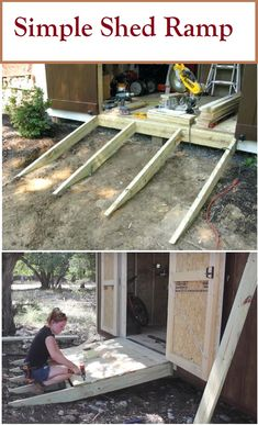 Building A Shed 530298924876963480 – There are two main things to consider for your shed ramp. Size and slope. Make sure to consider these when building a garden shed ramp. Source by ideas diy shed design shed diy shed ideas shed organization shed plans Backyard Storage Sheds, Backyard Sheds, Outdoor Sheds, Outdoor Storage, Diy Shed Plans, Storage Shed Plans, Storage Ideas, Barn Storage, Barn Plans