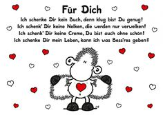 Für Dich | sheepworld | Echte Postkarten online versenden | sheepworld Love Of My Live, Big Love, All You Need Is Love, Love Life, Love Quotes For Boyfriend, Morning Humor, To My Future Husband, Cool Words, Funny Quotes