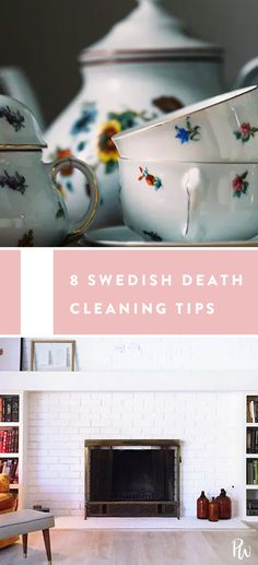 How to Swedish Death Clean in 8 Easy Steps #swedishdeathcleaning #cleaning #organization #cleaninghacks #homehacks