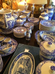 The Enchanted Home: Spode Blue Italian collection