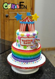 Circus cake by Cakes For Fun