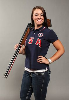 Alaska native Corey Cogdell is a trapshooter who won bronze in the women's Trap event at the 2008 Olympics in Beijing.