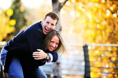 Fall Engagement Photos