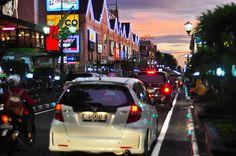 Jalan Malioboro, Yogyakarta, at Dusk by JoniMetal, via Flickr