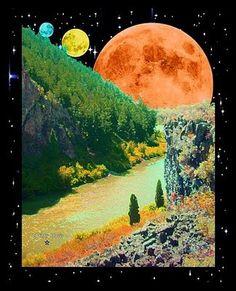 Psychedelic Moon