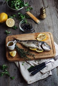 ideas for photography food healthy cooking Fish Recipes, Seafood Recipes, Cooking Recipes, Healthy Recipes, Simple Recipes, Cooking Ideas, Healthy Cooking, Think Food, Love Food