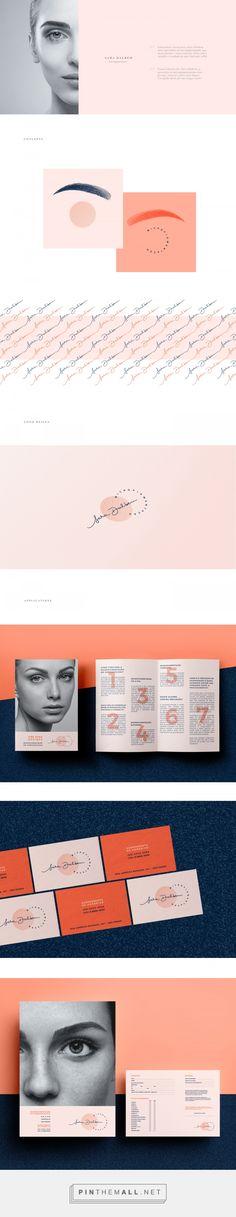 Sara Dalbem Micropigmentation Specialist Branding by Natalia Dalbem   Fivestar Branding Agency – Design and Branding Agency & Curated Inspiration Gallery
