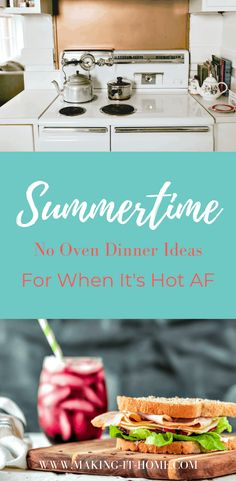 When it's summer the last thing you want to do is starting cooking in the kitchen on a hot day! These summertime no oven dinner ideas will keep you cool! Best Roast Beef, Farmers Market Recipes, Good Roasts, Cooking Appliances, Grilling Recipes, Crockpot Recipes, Holiday Dinner, Dinner Ideas, Recipes Dinner