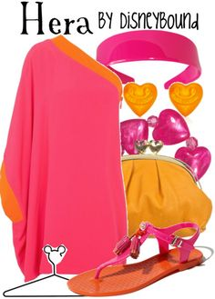 DisneyBound! Hercules Mom. Really cute outfit. Even though I wouldn't wear the shoes