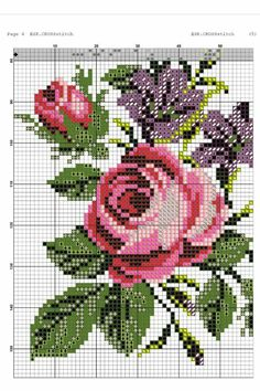 This Pin was discovered by Giu Cross Stitch Kitchen, Cross Stitch Rose, Modern Cross Stitch, Cross Stitch Flowers, Cross Stitch Designs, Cross Stitch Embroidery, Embroidery Patterns, Cross Stitch Patterns, Hobbies And Crafts