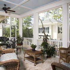 Screen Porch Design Ideas for Your Porch\'s Exterior | Porch ...