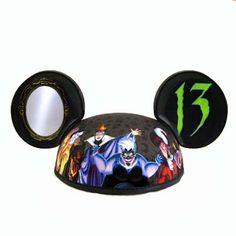 Your WDW Store - Disney Hat - Ears Hat - Reflections Of Evil Ears Hat