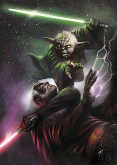 Yoda by Lucio Parrillo