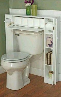 Organizador de baño práctico