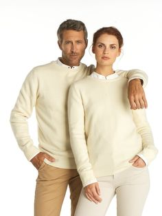 Cashmere couple in 100 % cashmere - super soft from HEYDORN! #cashmere #couple #pure #fashion #elegant