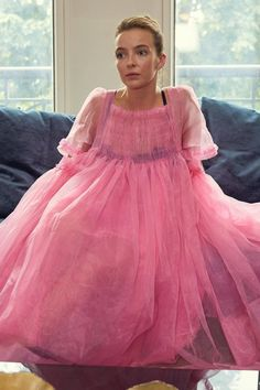 Behold, my edit of the best dressed TV shows. Morgana Le Fay, Jessica Pearson, Nice Dresses, Flower Girl Dresses, Pink Dress, Jodie Comer, Ferrat, Pink Tulle, 2020 Fashion Trends